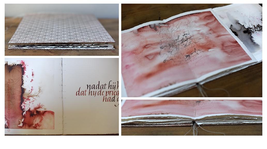 Boek met als inspiratiebron het boek: Ik heet Karmozijn, Orhan Pamuk