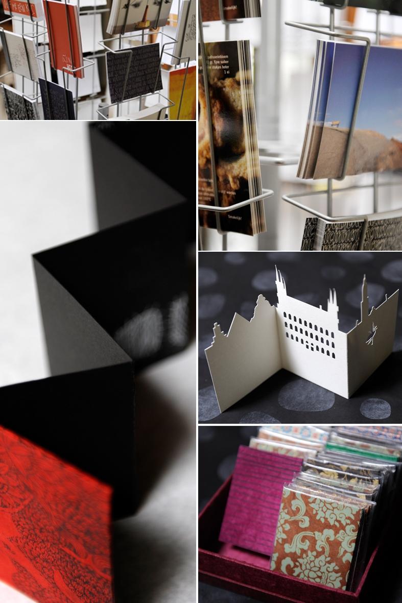 harmonicaboekje en postkaarten