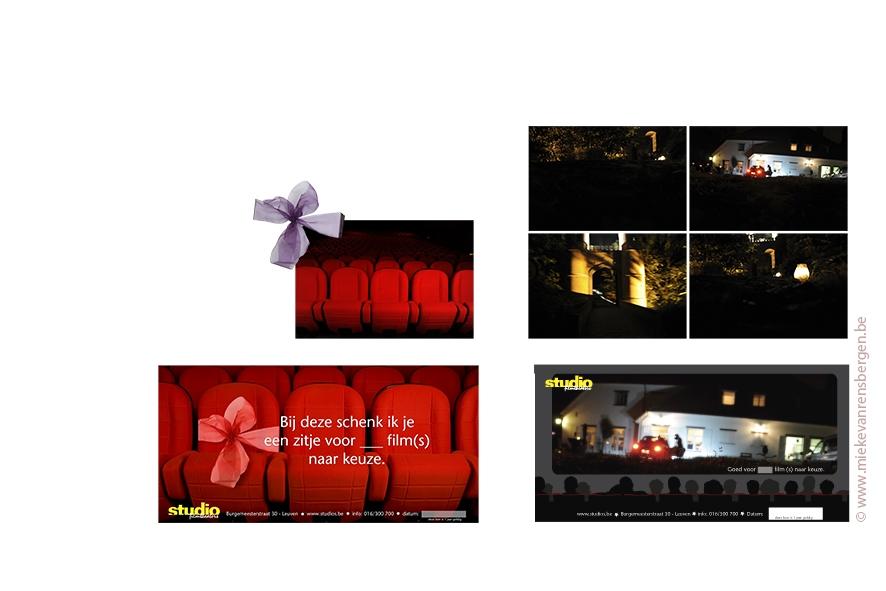 studio filmtheaters project the making off geschenkbon